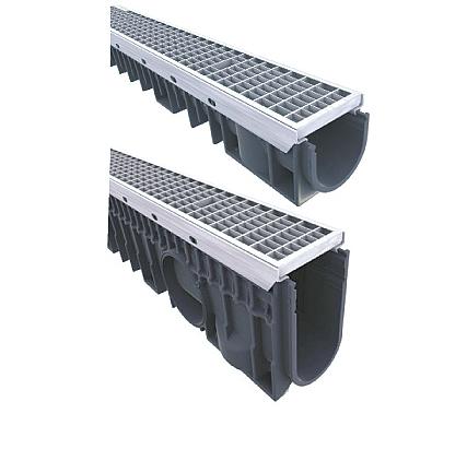 Kaskádový zátěžový systém odvodnění KENADRAIN HEAVY DUTY 100mm METAL, norma EN 1433