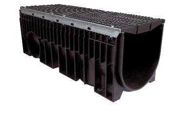 Zátěžový systém odvodnění KENADRAIN HEAVY DUTY 300mm METAL, norma EN 1433