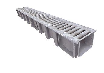Systém odvodnění CONNECTO 130mm METAL, norma EN 1433