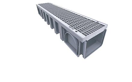 Systém odvodnění CONNECTO 200mm METAL, norma EN 1433